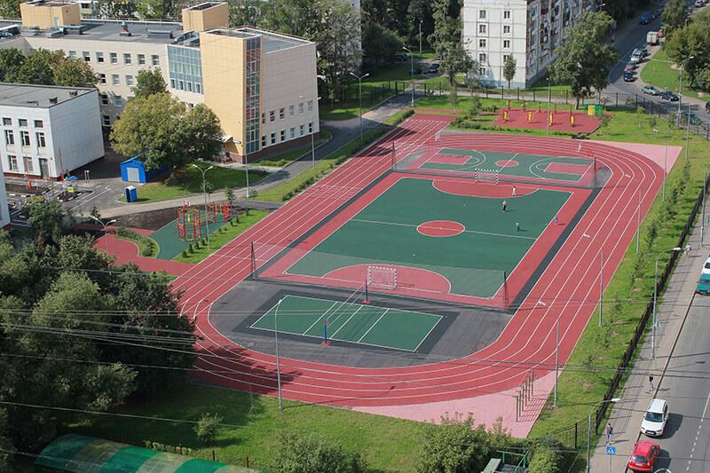 картинки спортивных площадок у школы впервые этом ресторане